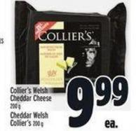 Collier's Welsh Cheddar Cheese 200 G