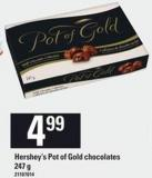 Hershey's Pot of Gold Chocolates