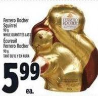 Ferrero Rocher Squirrel 90 g