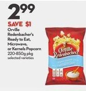 Orville Redenbacher's Ready To Eat - Microwave - or Kernels Popcorn