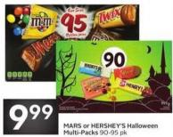Mars or Hershey's Halloween Multi-packs