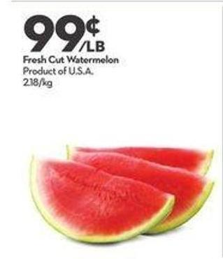 Fresh Cut Watermelon