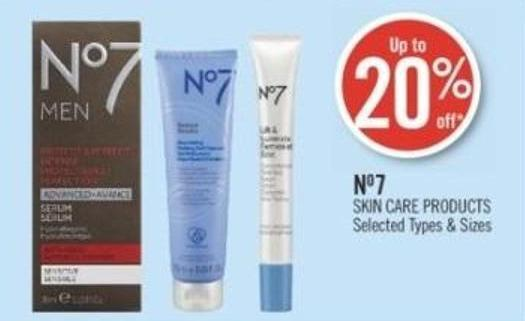 No7 Skin Care Products