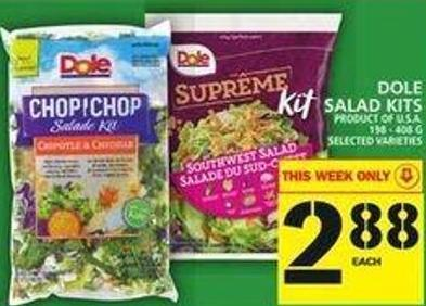 Dole Salad Kits