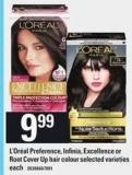 L'or'al Preference - Infinia - Excellence Or Root Cover Up Hair Colour