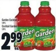 Garden Cocktail 1.89 L