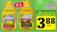 Saporito Vegetable Or Canola Oil