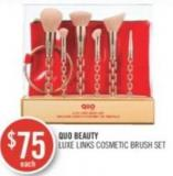 Quo Beauty Luxe Links Cosmetic Brush Set