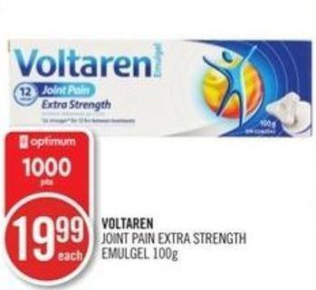 Voltaren Joint Pain Extra Strength Emulgel 100g