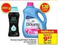 Downy Liquid Fabric Softner