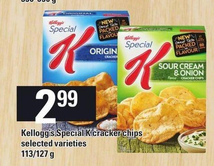 Kellogg's Special K Cracker Chips - 113/1