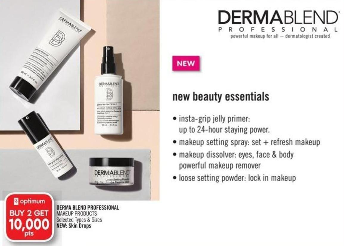 Derma Blend Professional Makeup Products