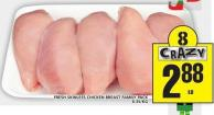 Fresh Skinless Chicken Breast Family Pack
