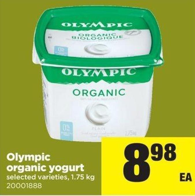 Olympic Organic Yogurt - 1.75 Kg