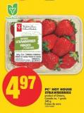 PC Hot House Strawberries - 340 g