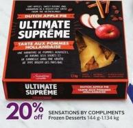 Sensations By Compliments Frozen Desserts