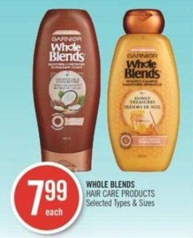 Whole Blends Hair Care Products