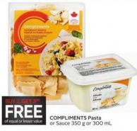 Compliments Pasta or Sauce 350 g or 300 mL