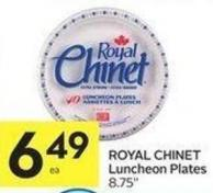 Royal Chinet Luncheon Plates On Sale Salewhale Ca