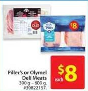 Piller's or Olymel Deli Meats