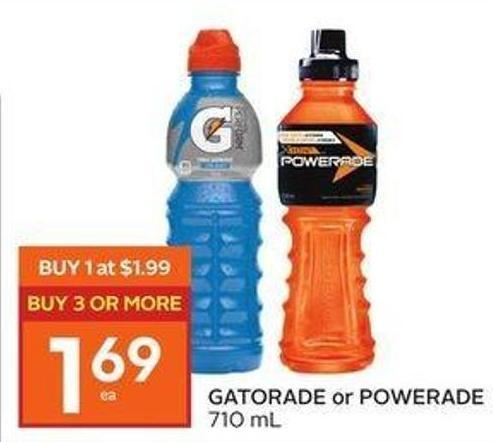 Gatorade or Powerade
