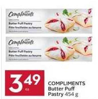 Compliments Butter Pu Pastry