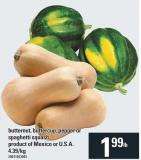 Butternut - Buttercup - Pepper Or Spaghetti Squash