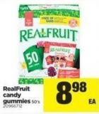 Realfruit Candy Gummies - 50's