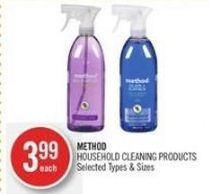 Method Household Cleaning Products