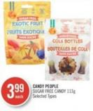 Candy People Sugar Free Candy 113g