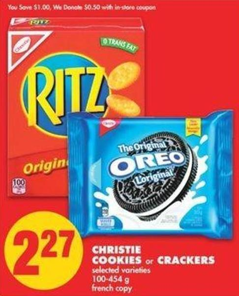 Christie Cookies Or Crackers - 100-454 G