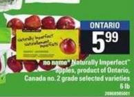 No Name Naturally Imperfect Apples - 6 Lb