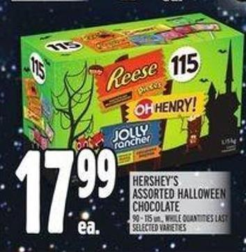 Hershey's Assorted Halloween Chocolate