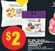 PC Red - Yellow - or Mixed Mini Potatoes - 680 g or Huckleberry Potatoes - 3 Lb.