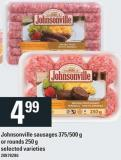 Johnsonville Sausages 375/500 g Or Rounds 250 g