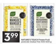 Nature's Touch Frozen Fruit