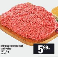 Extra Lean Ground Beef Family Size