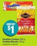 Excelsior Crackers 300 g Ovaltine Biscuits 150 g