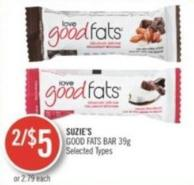 Suzie's Good Fats Bar 39g