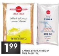 Lantic Brown - Yellow or Icing Sugar