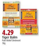 Tiger Balm Pain Relief Ointment 18g