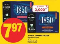 1850 Coffee PODS - 10's