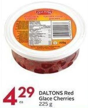 Daltons Red Glace Cherries 225 g