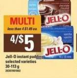 Jell-o Instant Pudding - 30-113 g