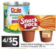 Snack Pack Puddings