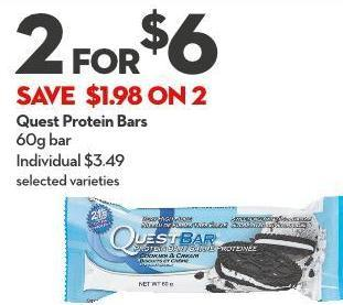 Quest Protein Bars 60g Bar