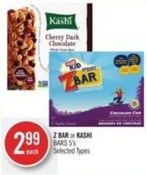 Z Bar or Kashi Bars