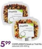 Compliments Snack or Trail Mix
