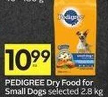 Pedigree Dry Food For Small Dogs
