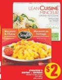 Stouffer's Bistro Or Entrees - 212-340 g